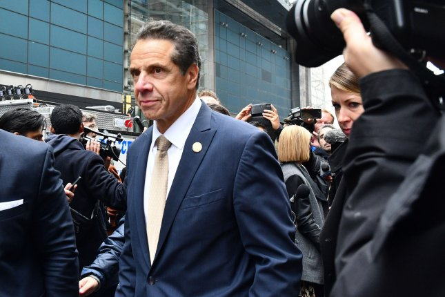 New York Gov. Andrew Cuomo has met twice now to discuss the Gateway Tunnel project with President Donald Trump. Photo by Louis Lanzano/UPI