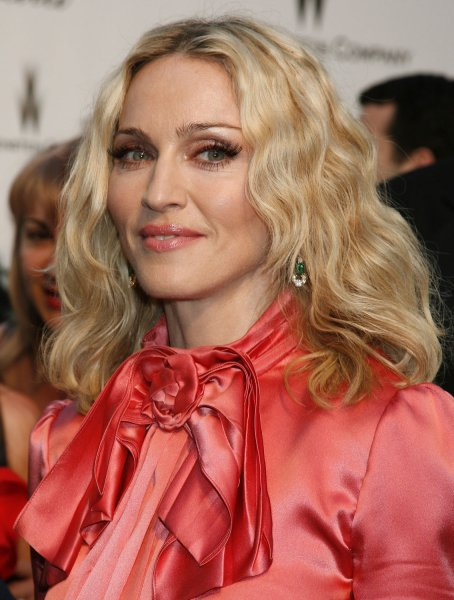 Singer Madonna arrives at the amfAR Cinema Against AIDS 2008 gala taking place during the 61st Annual Cannes Film Festival near Cannes, France on May 22, 2008. The event raises funds for AIDS research. (UPI Photo/David Silpa)