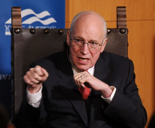 resident Dick Cheney has finished writing his memoir, a 544-page book described as clear eyed history by a former aide. UPI/Jim Ruymen