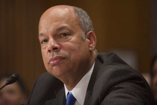 Homeland Security Secretary Jeh Johnson. UPI/Kevin Dietsch