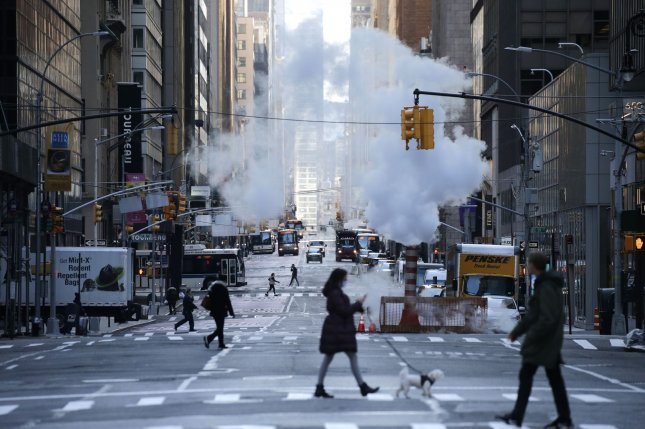 The Centers for Disease Control and Prevention urged residents of New York, New Jersey and Connecticut to avoid non-essential travel to prevent the spread of the coronavirus as U.S. deaths doubled to more than 2,000.  Photo by John Angelillo/UPI