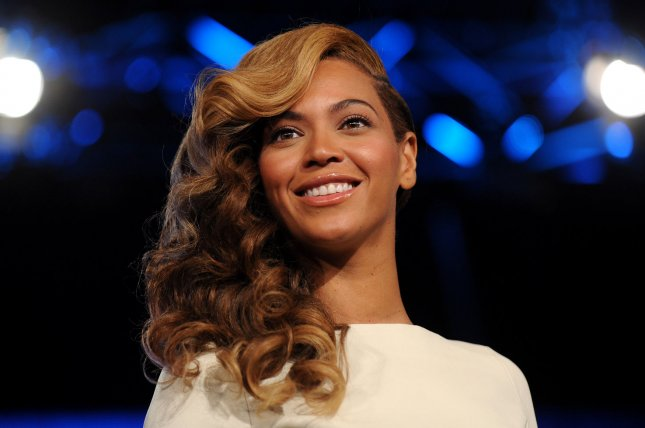 Beyonce speaks about her upcoming Super Bowl performance during the Pepsi Super Bowl XLVII half time show press conference at the Ernest N. Morial Convention Center in New Orleans on January 31, 2013. UPI/Kevin Dietsch