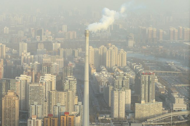 Researchers say ozone and NO2 in places that are wet, warm and smoggy may encourage more prevalent and powerful allergens. File Photo by UPI/Stephen Shaver