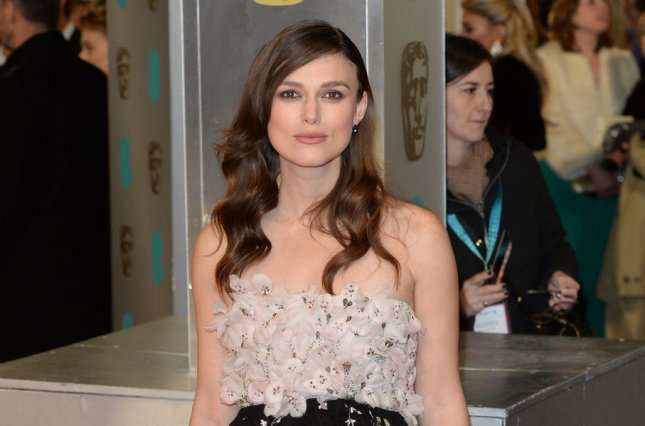 Keira Knightley attends The EE British Academy Film Awards on February 8, 2015. Knightley stars alongside Andrew Lincoln, Liam Neeson and Hugh Grant among others in a new teaser for the upcoming Love Actually reunion short. File Photo by Paul Treadway/UPI