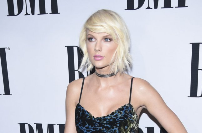 Taylor Swift attends the 64th Annual BMI Pop Awards held at the Beverly Wilshire in Beverly Hills, Calif., on May 10, 2016. The singer turns 28 on December 13. File Photo by Phil McCarten/UPI