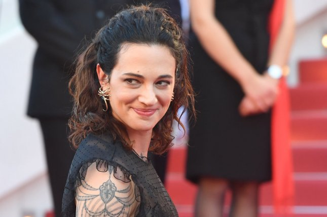 Asia Argento was dating Anthony Bourdain prior to the celebrity chef's death. File Photo by Rune Hellestad/UPI
