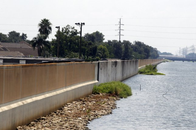 A section of the 17th Street Canal, in New Orleans, which was breached during Hurricane Katrina is shown nearly a decade after it gave way, flooding vast areas of the city. File Photo by AJ Sisco/UPI