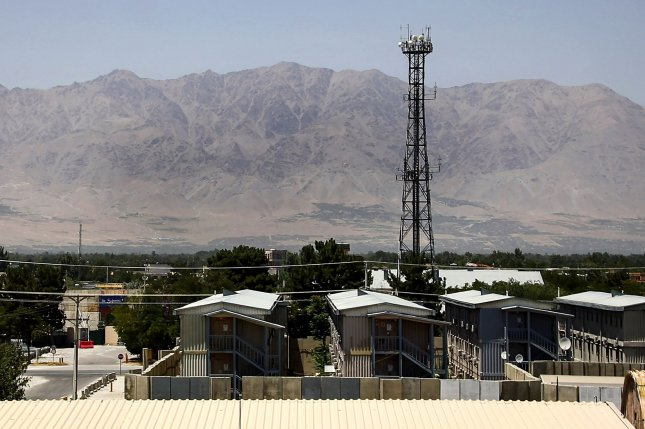The Bagram Airfield base after all U.S. and NATO forces evacuated in Parwan province, eastern Afghanistan, on July 8. Photo by Ezatullah Alidost/UPI