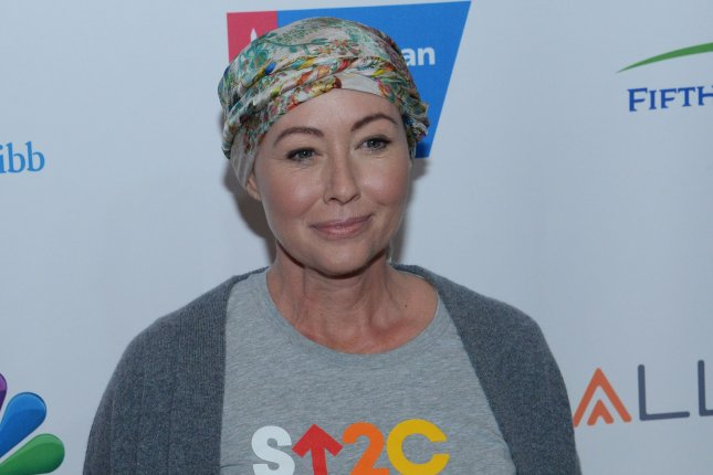 Shannen Doherty returns to work after beating breast cancer