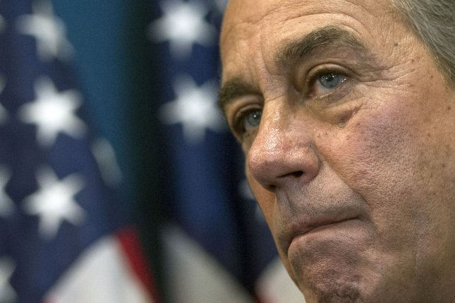 Former House Speaker John Boehner is chairing a new marijuana lobby group, which launched Friday. File Photo by Kevin Dietsch/UPI