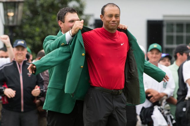 Tiger Woods won his fifth Masters title last year, holding off Dustin Johnson, Brooks Koepka and Xander Schauffele by one stroke April 14 in Augusta, Ga. File Photo by Kevin Dietsch/UPI