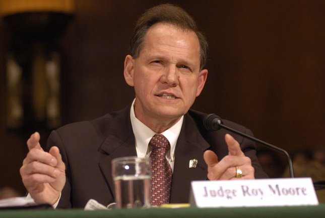 Alabama Chief Justice Roy Moore UPI File Photo by Greg Whitesell