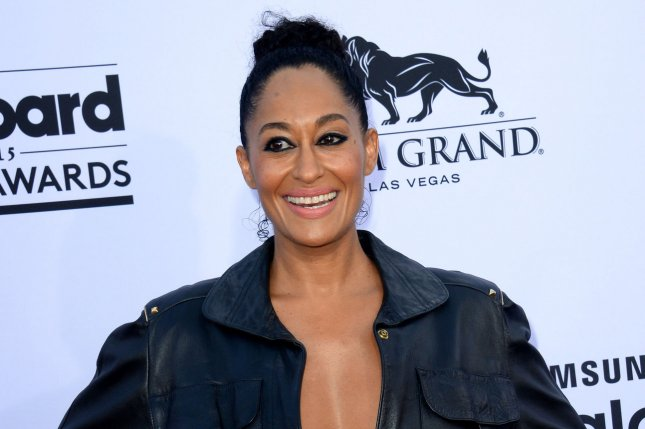 Tracee Ellis Ross at the Billboard Music Awards on May 17, 2015. The actress shared several bikini photos Monday on Instagram. File photo by Jim Ruymen/UPI