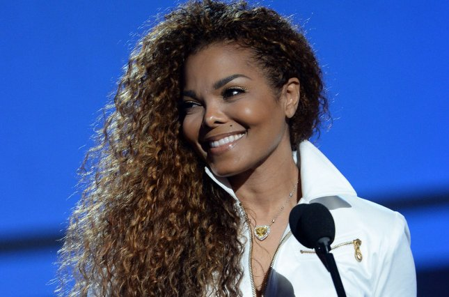 Janet Jackson accepts the Ultimate Icon: Music Dance Visual award during the 15th annual BET Awards on June 28, 2015. File Photo by Jim Ruymen/UPI
