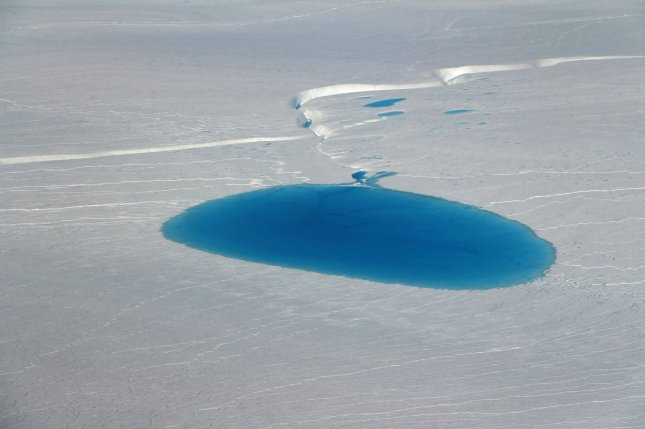 Greenland has been shedding ice at an accelerated clip over the last few decades. NASA Photo by John Sonntag/UPI