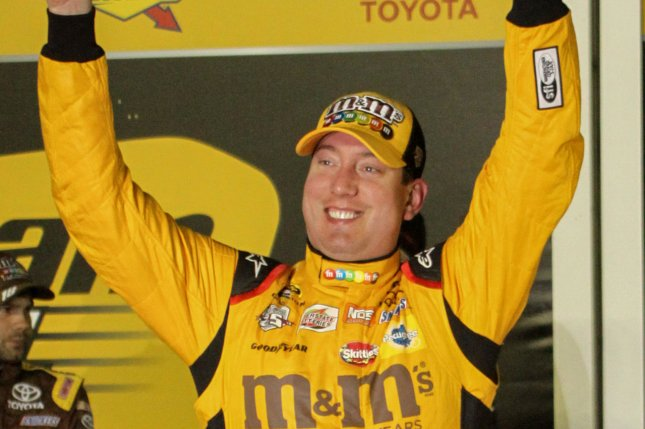 Kyle Busch. Photo by Mike Gentry/UPI