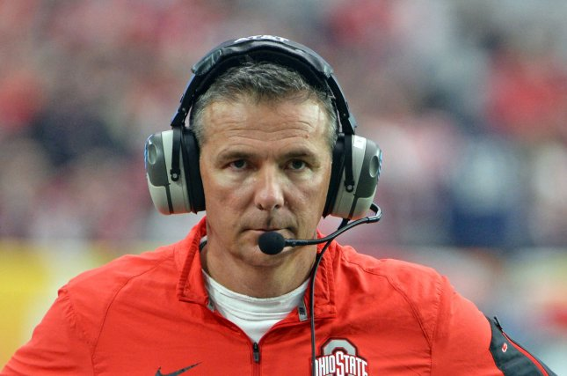 Ohio State head coach Urban Meyer. Photo by Art Foxall/UPI