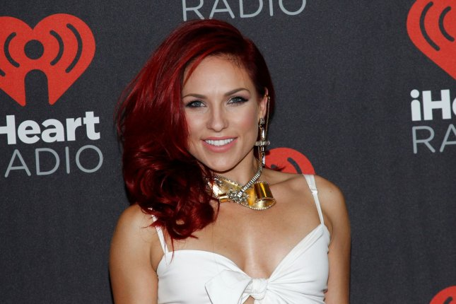 Sharna Burgess at the iHeartRadio Music Festival on September 23. File photo by James Atoa/UPI