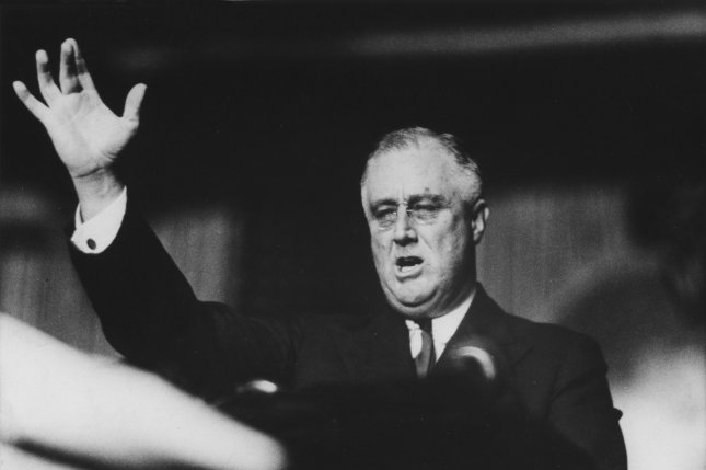 President Franklin Delano Roosevelt in a photo from 1935. UPI File Photo