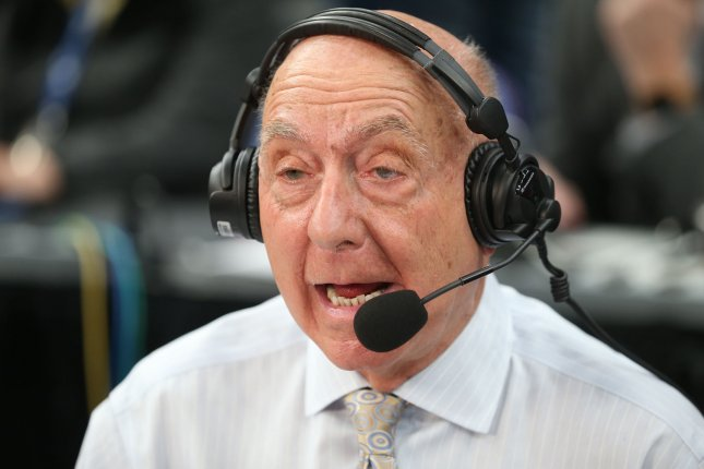 ESPN college basketball announcer Dick Vitale says there are several teams capable of beating Duke in the 2019 NCAA Division I Men's Basketball Tournament, but it's going to be tough. Photo by BIll Greenblatt/UPI