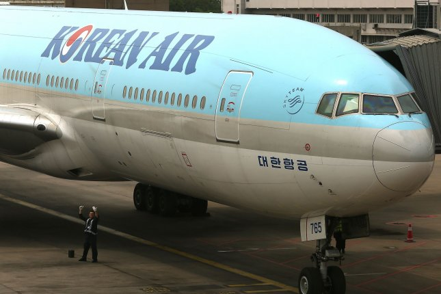 Korean Air granted a same-sex South Korean couple family status, according to local press reports on Thursday. File Photo By Stephen Shaver/UPI