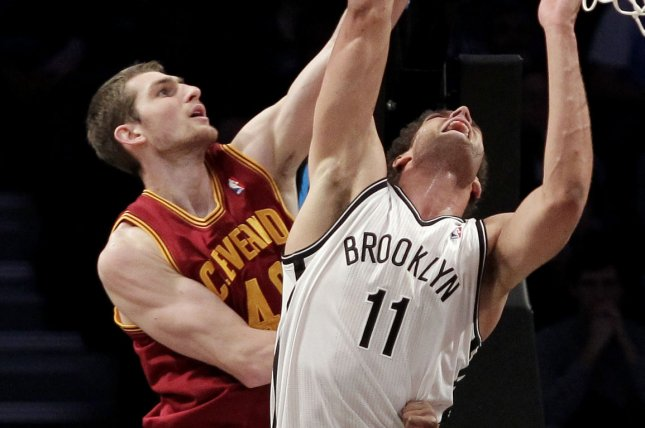 Former Cleveland Cavaliers center Tyler Zeller's last NBA action came in the 2018-19 season, when he spent time with the Atlanta Hawks and Memphis Grizzlies. File Photo by John Angelillo/UPI