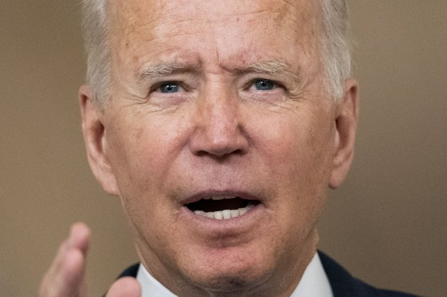 President Joe Biden's administration was caught on the horns of an intractable dilemma in Afghanistan. Photo by Pat Benic/UPI