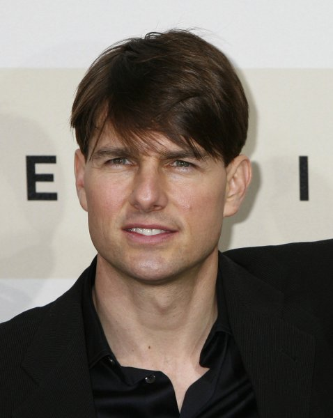 Actor Tom Cruise in Rome on October 23, 2007. (UPI Photo/David Silpa/File)