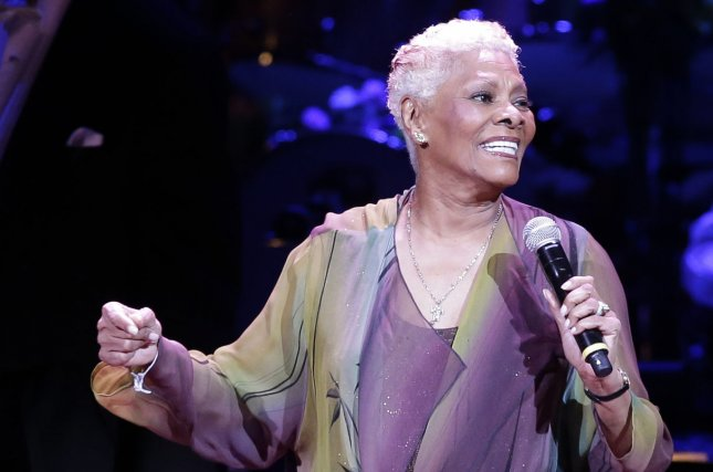 Dionne Warwick was hospitalized for two weeks after falling in the shower and injuring her ankle. File photo by John Angelillo/UPI