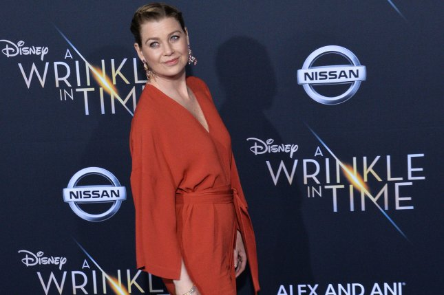 Ellen Pompeo's medical drama Grey's Anatomy has been renewed for a 15th season. File Photo by Jim Ruymen/UPI