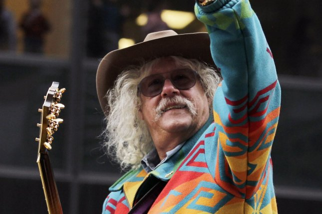 Arlo Guthrie, 73, has announced his retirement from touring. File Photo by John Angelillo/UPI
