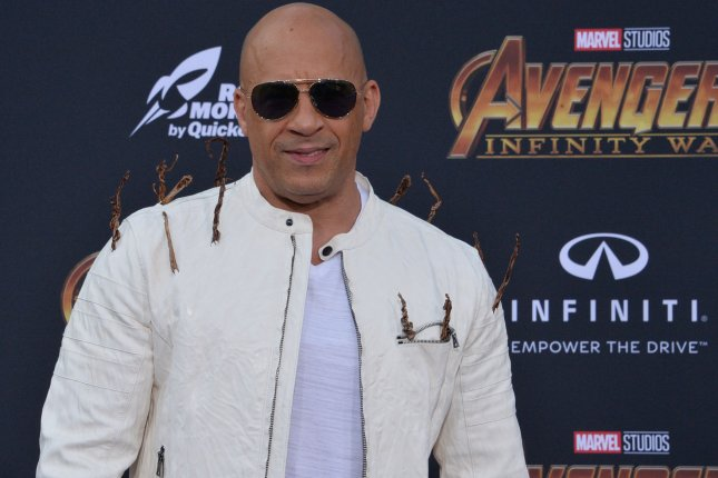 Vin Diesel appeared in a new F9 promo that celebrates the magic of going to the movies Sunday. File Photo by Jim Ruymen/UPI