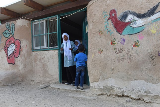 Along with education, schoolchildren are missing safety, friends and food in school environments, which have been replaced by anxiety, violence and teenage pregnancy, UNICEF said.File Photo by Debbie Hill/UPI