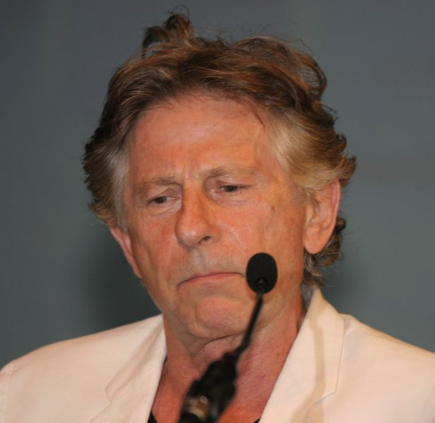 Director Roman Polanski pauses during a tribute to screenwriter/director Robert Towne at the 31st annual American Film Festival in Deauville, France on September 3, 2005. (UPI Photo/David Silpa)
