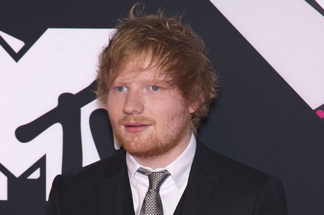 Ed Sheeran at the MTV Europe Music Awards on October 25, 2015. The singer sparked marriage rumors this week. File Photo by David Silpa/UPI