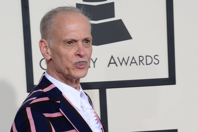 John Waters arrives for the 57th Grammy Awards in Los Angeles on February 8, 2015. The Writers Guild of America East says it will honor Waters with a career achievement award this winter. File Photo by Jim Ruymen/UPI