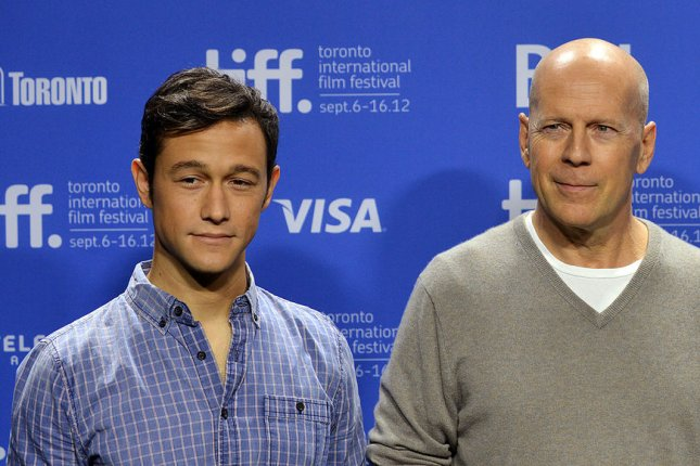 Joseph Gordon-Levitt is set to roast his Looper co-star Bruce Willis on Comedy Central next month. File Photo by Christine Chew/UPI
