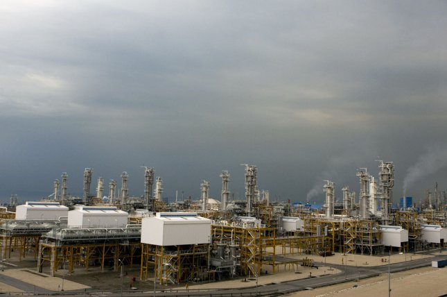 Iran says steps are in place to cooperate with Russian energy company Gazprom. UPI/Maryam Rahmanian