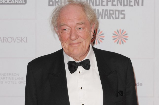 English actor Michael Gambon attends the 15th Moet British Independent Film Awards in London on December 9, 2012. File Photo by Paul Treadway/UPI