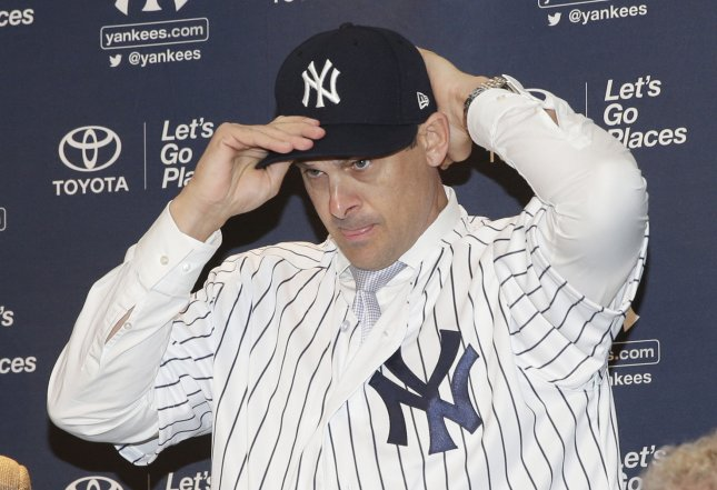 Aaron Boone introduced as New York Yankees manager
