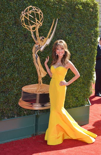 Susan Lucci will be seen in the ABC special The History of Soaps. File Photo by Christine Chew/UPI