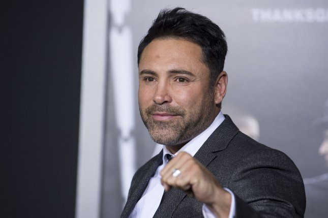 Oscar De La Hoya announced his retirement from boxing in April 2009. He had a 39-6 record before stepping away from the ring. File Photo by Phil McCarten/UPI