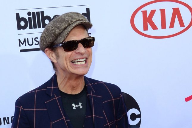 David Lee Roth attends the Billboard Music Awards held at the MGM Grand Garden Arena in Las Vegas on May 17, 2015. The singer turns 66 on October 10. File Photo by Jim Ruymen/UPI