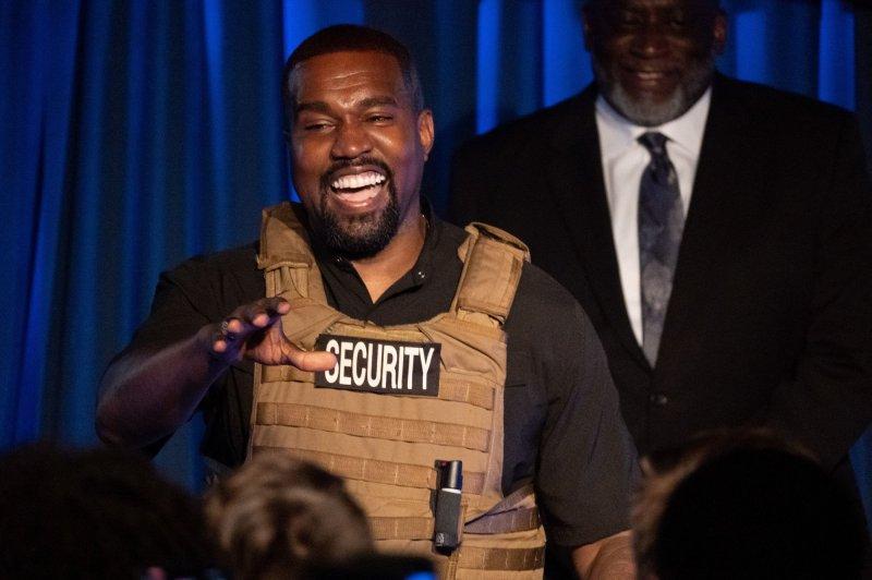 Kanye West surprised fans with a new album called Emmanuel on Christmas Day. File Photo by Richard Ellis/UPI