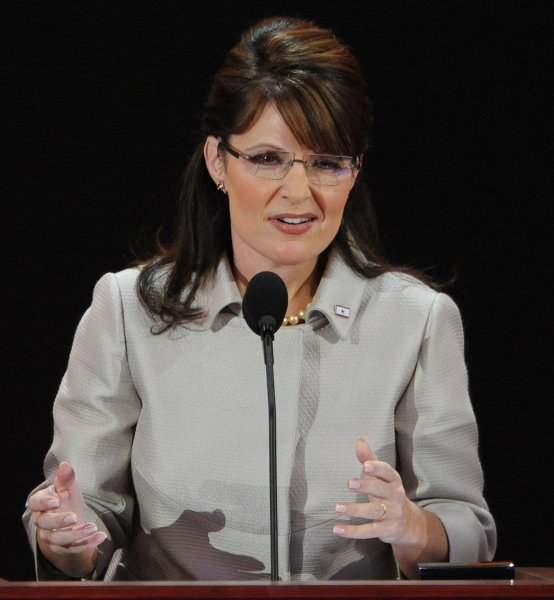 2085c38c7c Republican Vice Presidential Nominee Sarah Palin speaks on the third day of  the Republican National Convention in St. Paul