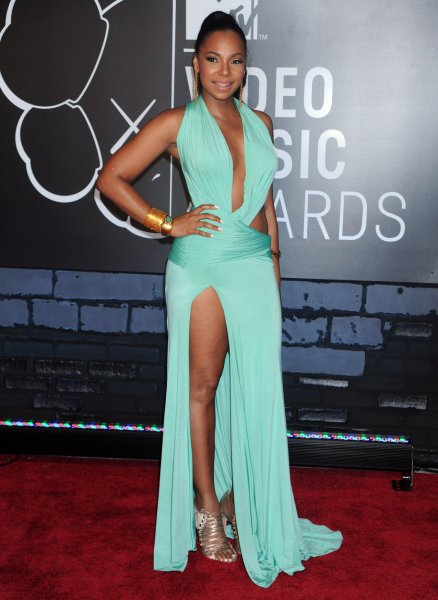Ashanti arrives on the red carpet at the 2013 MTV Video Music Awards at Barclays Center in New York City on August 25, 2013. This is the first time the awards show has been held in Brooklyn and Barclays Center which opened last September. UPI/Dennis Van Tine
