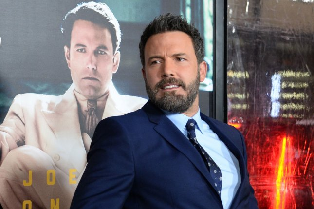 Ben Affleck attends the premiere of Live By Night on January 9. Affleck is no longer directing The Batman. File Photo by Jim Ruymen/UPI