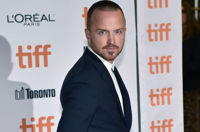 Aaron Paul's Breaking Bad sequel movie reportedly will debut on Netflix, then air on AMC. File Photo by Christine Chew/UPI