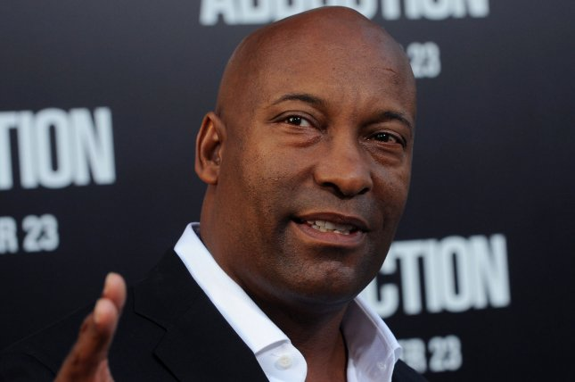 Filmmaker John Singleton, pictured here, died on Monday following a stroke. Several celebrities, including Jamie Foxx and Samuel L. Jackson, commented on the director's death on social media. File Photo by Jim Ruymen/UPI