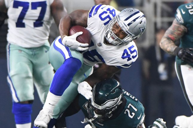 Giants sign former Cowboys RB Rod Smith